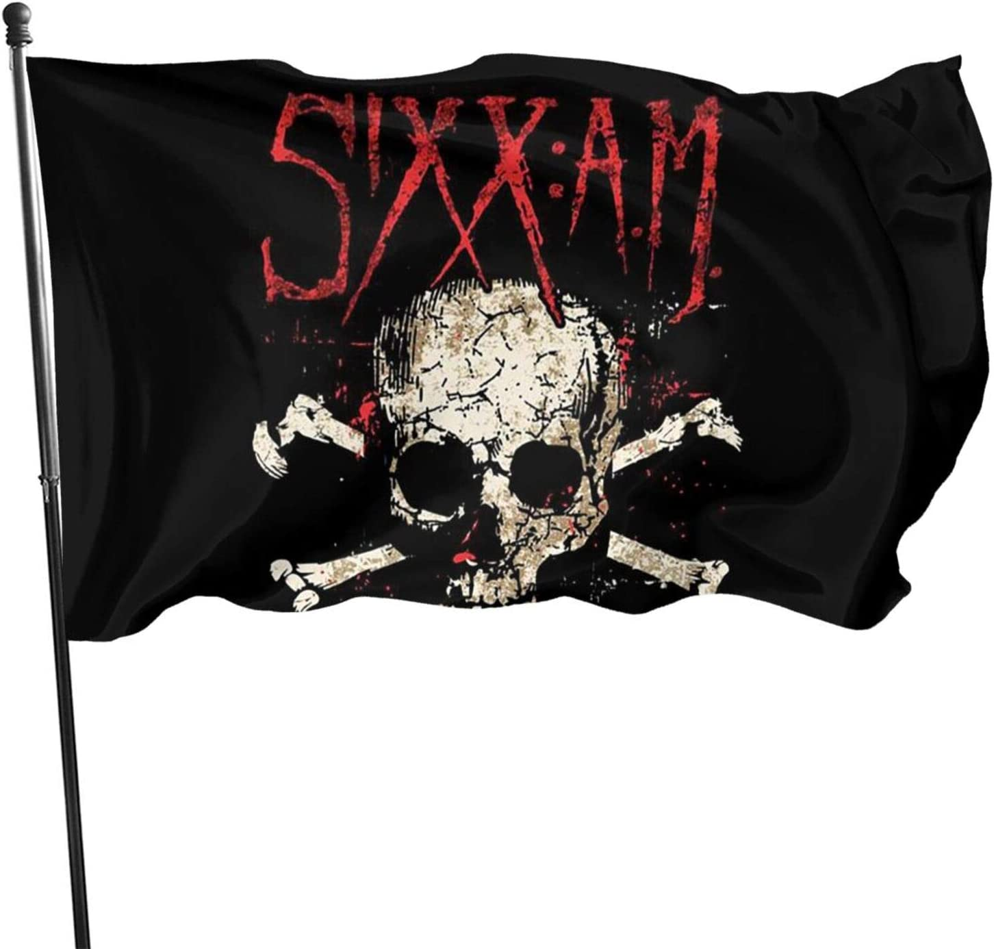 Sixx Am Band Garden Flag Personalized Decoration Banner Indoor Outdoor Courtyard Sign Farm Party Activities 3 X 5 Ft