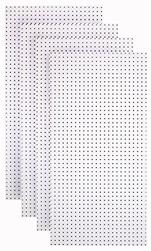 - Triton Products HDW-4 (4) White Hdf Pegboards