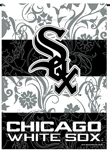 Chicago White Sox Rico Premium 2-sided GARDEN Flag Outdoor House Banner -