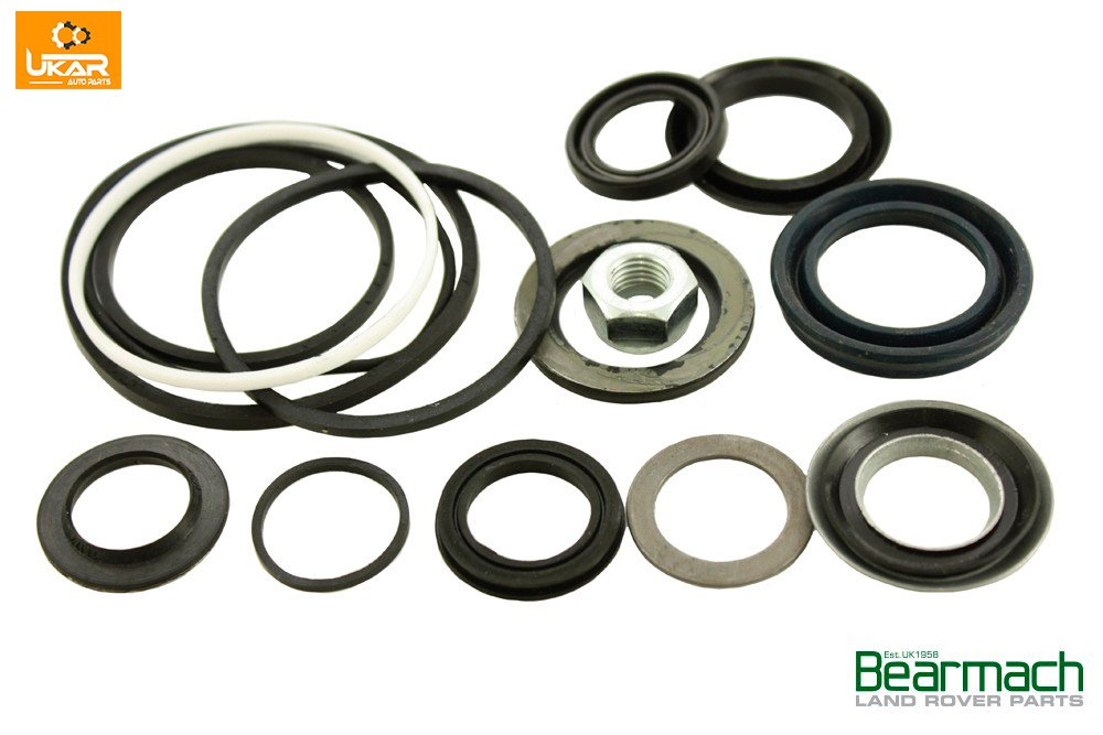 BEARMACH UK Land Rover Range Rover Classic Power Steering Box Seal Kit 4 Bolt Part#STC2847R