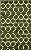 Cheap A2Z Rug Trellis Design Collection – 3′ 3 x 5′ 3-Feet Area Rugs, Dark Green