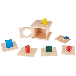 MEROCO Montessori Baby 6 in 1 Todders Shaped Matching Game Development Toys