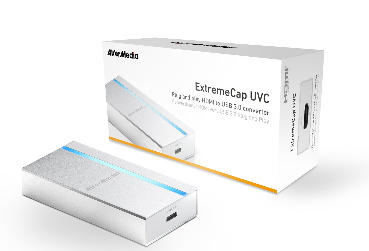 AVerMedia BU110 Ultra Mobile Broadcasting and Capture device UVC Pro USB 3.0 streaming on the go. 12 Months Wa