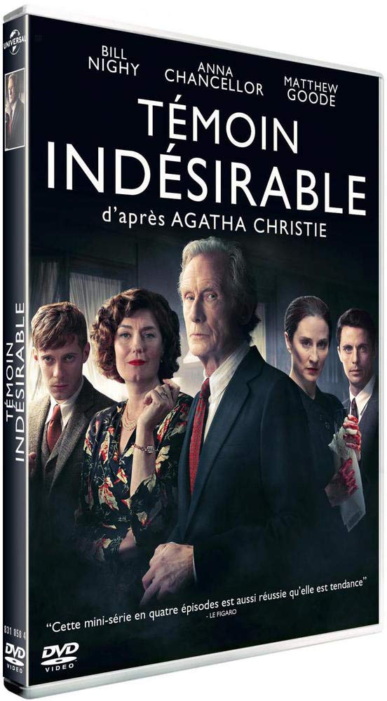 Témoin indésirable [Francia] [DVD]: Amazon.es: Morven Christie, Anthony Boyle, Luke Murray, Catriona McNicoll, Abigail Conteh, Rhys Lambert, Hayden Robertson, Brian McCardie, Alice Eve, Frances Grey, Christian Cooke, Bill Nighy, Matthew Goode, Luke