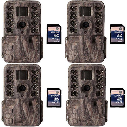 moultrie-m40i-16mp-80-video-no-glow-ir-game-trail-camera-8gb-sd-card-4-each