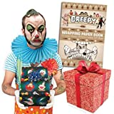 Accoutrements Creepy Wrapping Paper Book