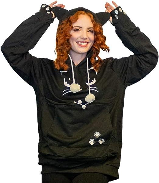 Amazon.com: Sudadera con capucha unisex para mascotas, con ...