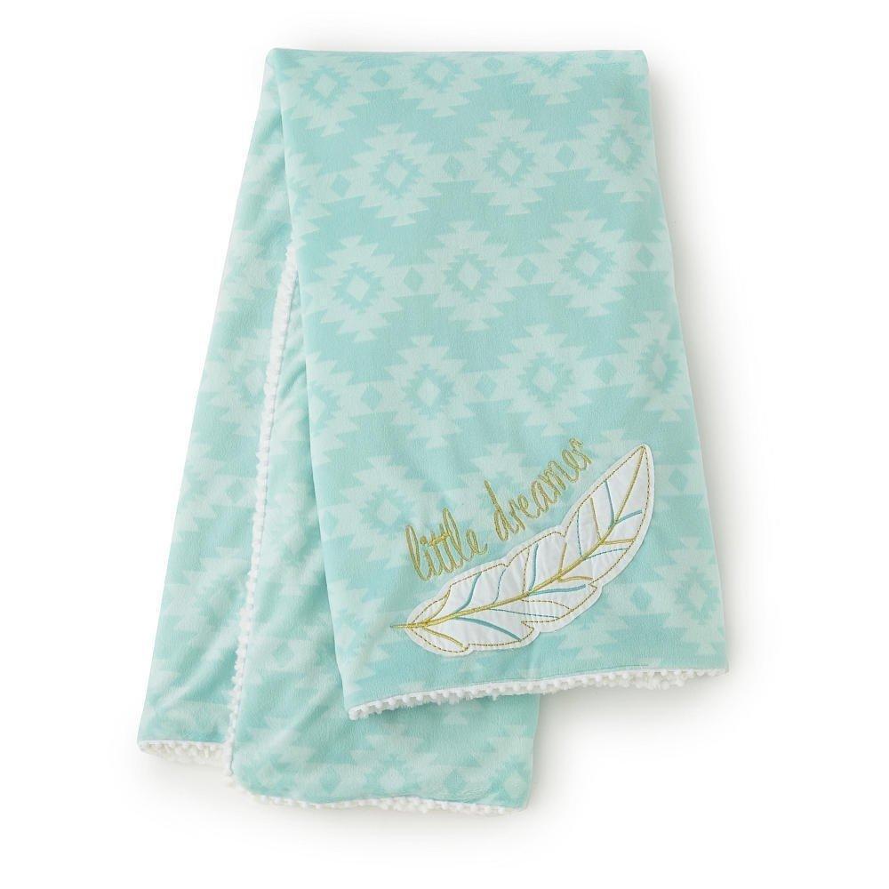 Levtex Baby Little Feather Blanket - Aqua