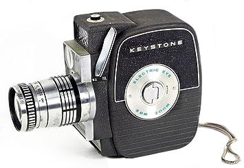 Keystone K-7 Vintage 8mm Film Movie Camera with Electric Eye