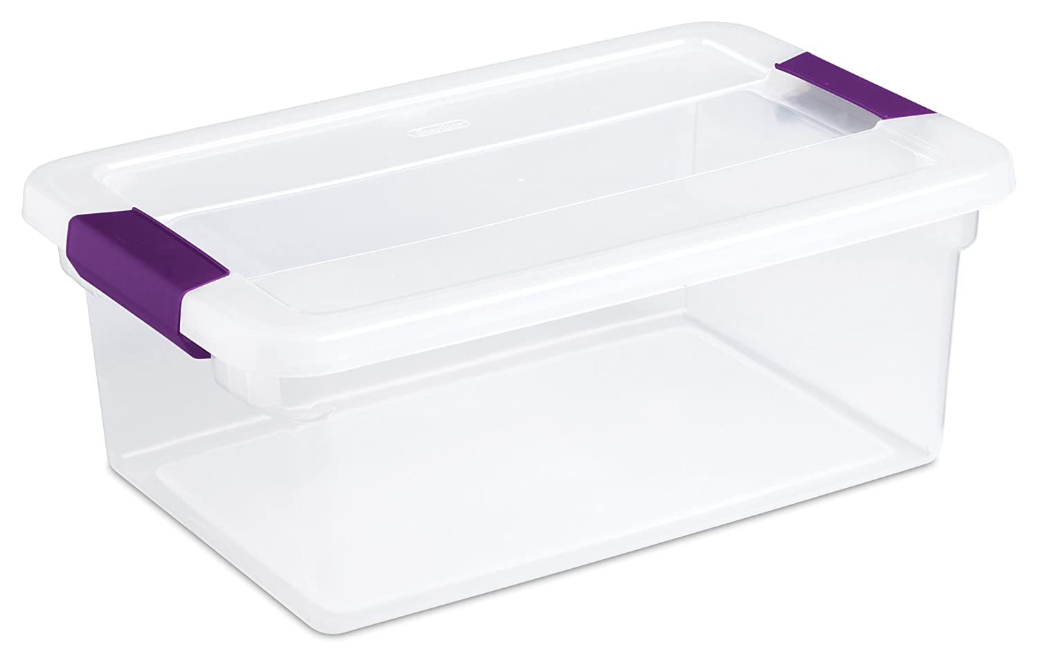 12 Pack Sterilite 17531712 15-Quart Clearview Latch Box Storage Tote Containers