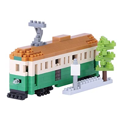 Nanoblock NBH-102 - Tramway de Melbourne - 290 pièces