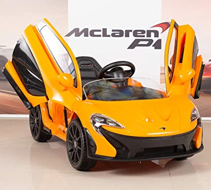Amazon.com: BIG TOYS DIRECT McLaren P1 - Coche con mando a ...
