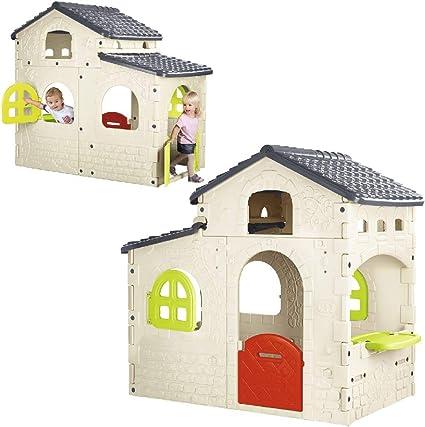 FEBER - Candy House, Casita infantil para el jardín (Famosa 800012221): Amazon.es: Juguetes y juegos