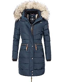 Navahoo Damen Winter Jacke Winter Mantel Schneeengel (vegan hergestellt) 13 Farben XS XXL
