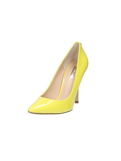 gran selección de c3102 78824 GUESS Zapatos de Salón Highheels stilettos Amarillo: Amazon ...
