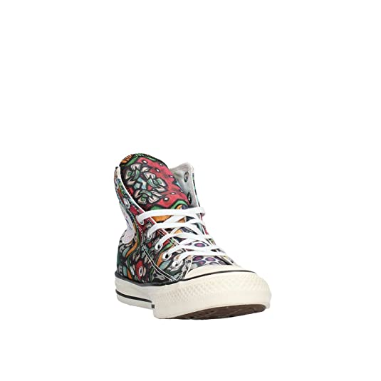 All Star Hi Can Graphics Unisex Mod. 152765C Mis. 39.5 Élégantes chaussures/Chaussures occasionnelles/Chaussures de mode pour hommes-C Longueur du pied=26.3CM(10.4Inch) kPm3V