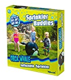 Toysmith Orca Whale Inflatable Sprinkler Buddy Toy