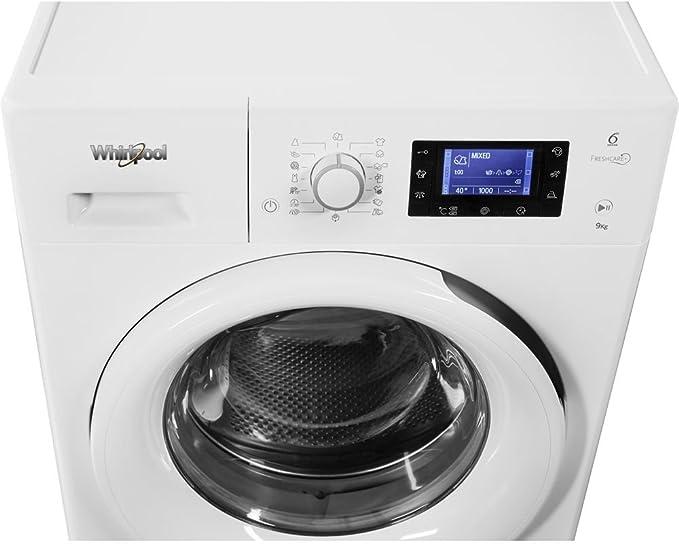 Whirlpool FWL61252W EU Independiente Carga frontal 6kg 1200RPM A++ ...