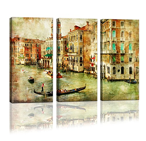 Cao Gen Decor Art-A01335 3 panels Framed Wall Art Abstract Print Painting on Canvas for Home Decor