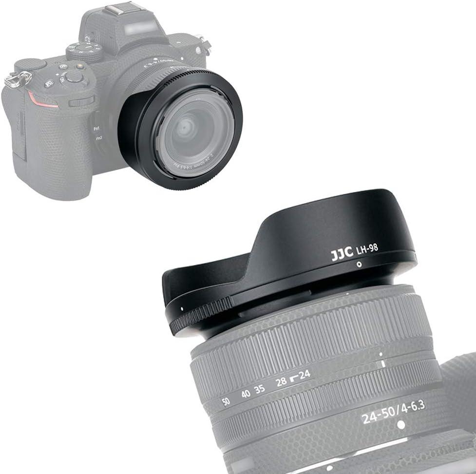 Gegenlichtblende Sonnenblende kompatibel f/ür Nikon AF Nikkor 24mm f//2.8D HN-1