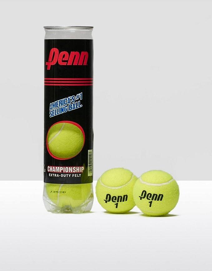 Amazon.com: Penn Championship pelotas de tenis (4 bolas ...
