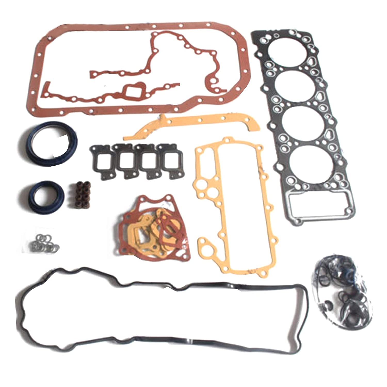 Amazon com: Spare Part 4M40 4M40D 4M40T Engine Gasket Kit