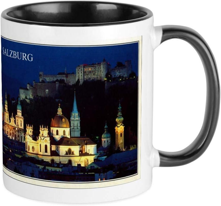 Amazon Com Cafepress Salzburg Mugs Unique Coffee Mug Coffee Cup Kitchen Dining