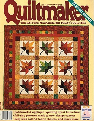 Quiltmaker Magazine September/October 1993 Vol. 12, No. 4