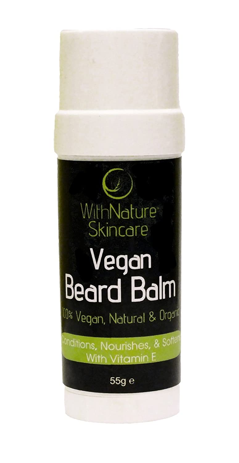 WithNature Skincare Vegan Beard Balm (55g)