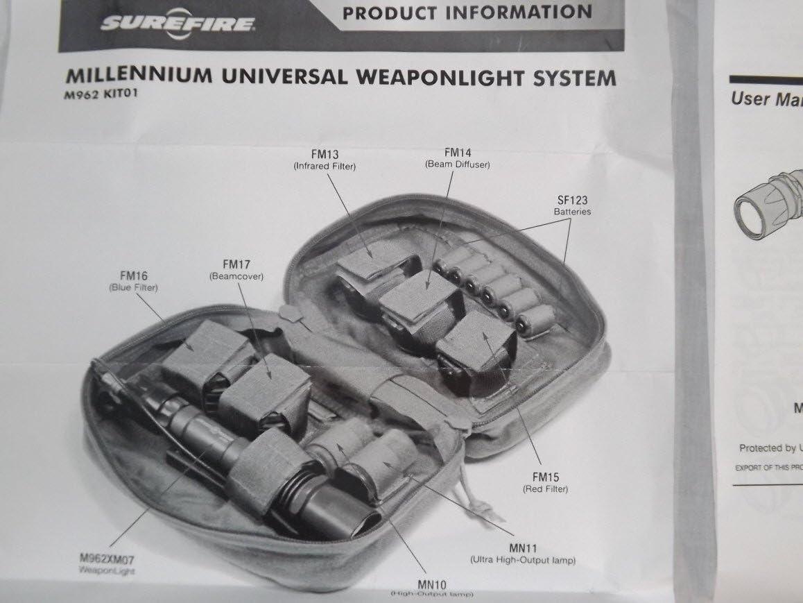 Surefire MN10 Incandescent Lamp Assembly