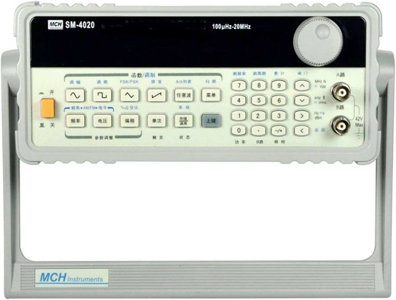 Size : 198-242V Multi Testers Arbitrary Wave Function Signal Generator 20MHZ Electronic Laboratory Equipment MCH-4020,Wide Measurement Range