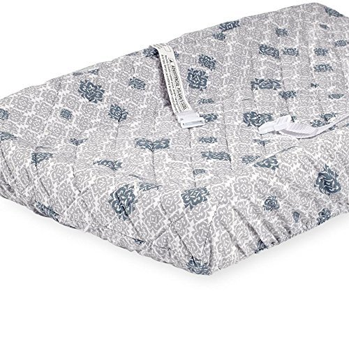 Babies R Us Neutral Clover Printed Quilted Changing Pad Cove