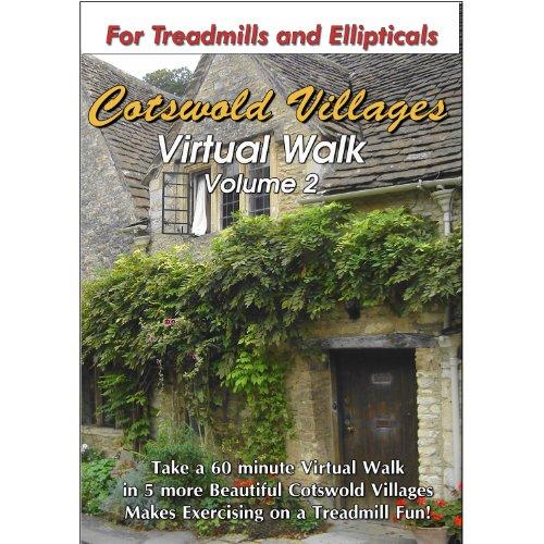 The Cotswold Villages Treadmill Virtual Walk DVD - Volume 2 (Vita Walking Dvd)