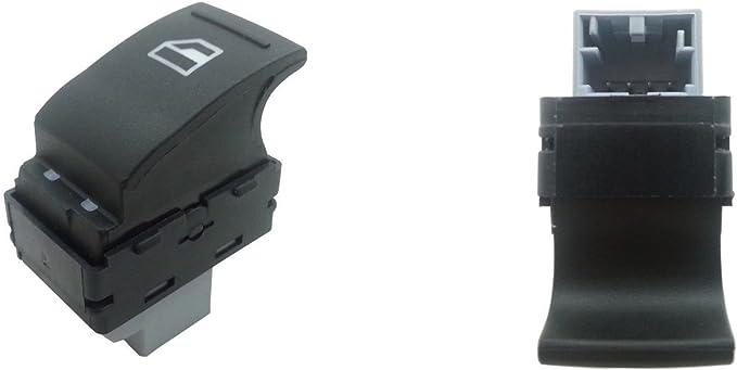 A1 1x Fensterheberschalter Beifahrer Schalter Elektrischer Fensterheber Schalter Tasten Schalter Knopf Auto