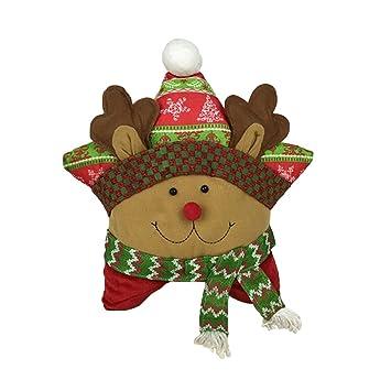 Tinksky Cojín de almohada decorativa de Navidad para ...