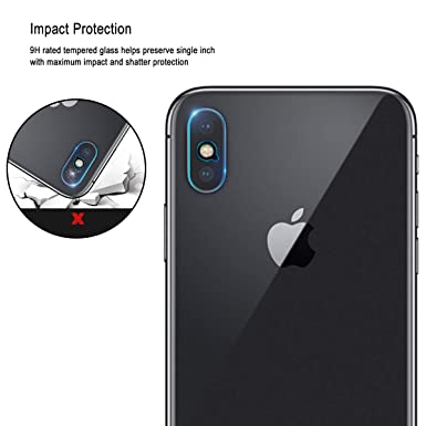 Amazon.com: Casetego Compatible iPhone Xs Max Camera Lens Protector, [3 Pack] Ultra Thin Transparent Clear Camera Tempered Glass Protector, High Definition ...