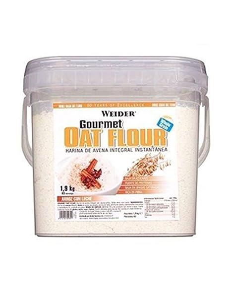 WEIDER Oat Gourmet Flour (Harina de Avena) Arroz con Leche 1,9 kg