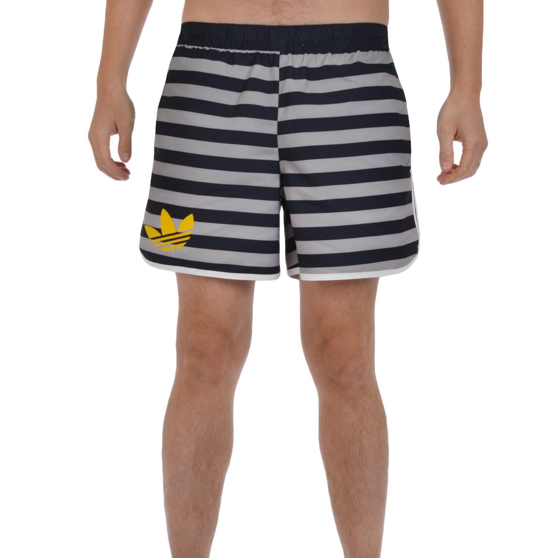 adidas Originals Mens All Over Print Swim Shorts