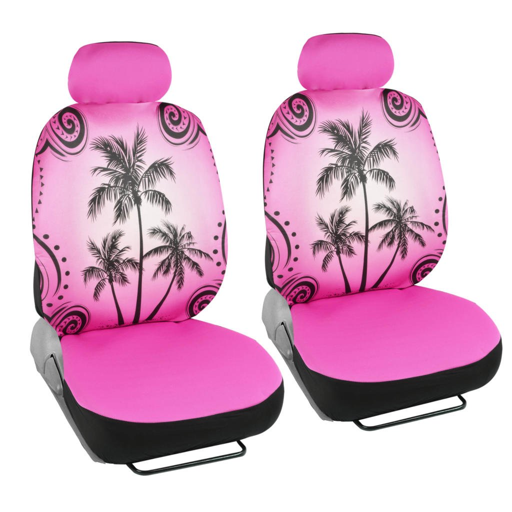 Amazon Pink Palm Tree Car Seat Covers