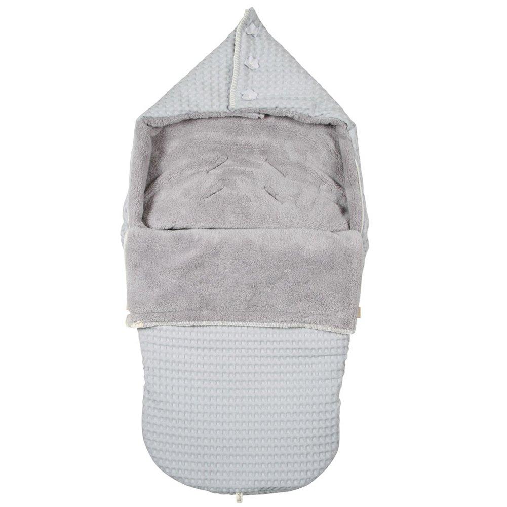 Koeka Baby, Kinderen Buggy Fußsack Waffel/plüsch Oslo 1015-25-005_538600-45x110