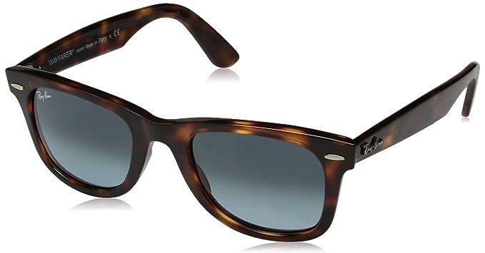 9b0a50a341 Ray-Ban Wayfarer Sunglasses in Black Green Polarised RB4340 601 58 50   Amazon.co.uk  Clothing