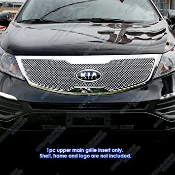 Amazon aps kx6906s chrome grille bolt over for select kia aps kx6906s chrome grille bolt over for select kia sportage models sciox Image collections
