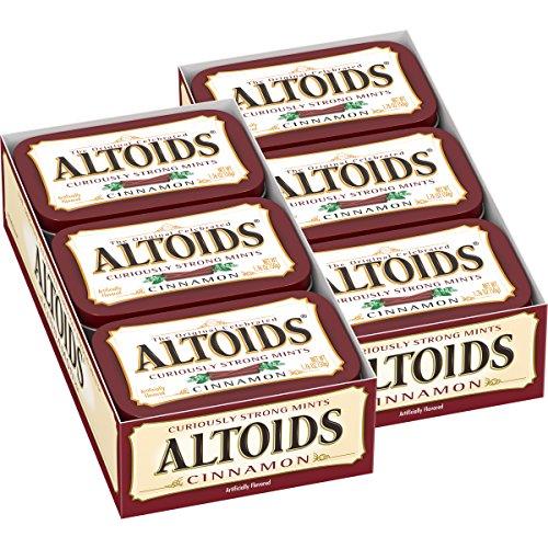 Altoids Cinnamon Mints, 1.76 ounce (12 (Discontinued Snacks)