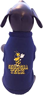 product image for NCAA Georgia Tech Yellow Jackets Polar Fleece Dog Sweatshirt, Small