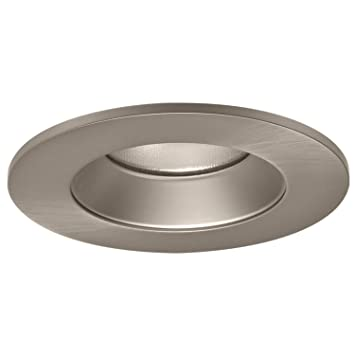 Halo Recessed TL402SNS 4 Inch LED Trim Shower Rated Solite Regressed Lens  With Reflector,