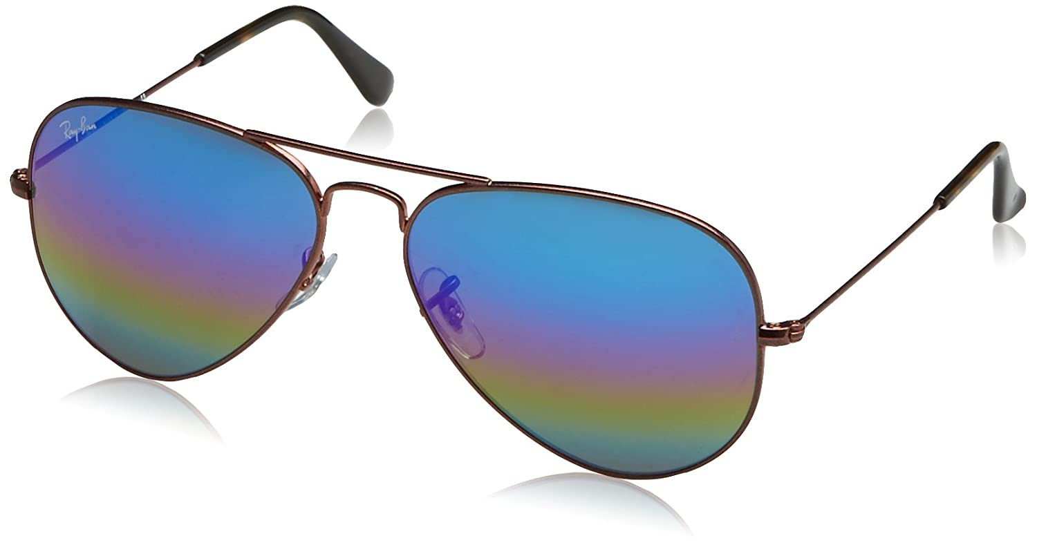 35966423c7f Ray-Ban Mirrored Aviator Men s Sunglasses - (0RB30259019C258