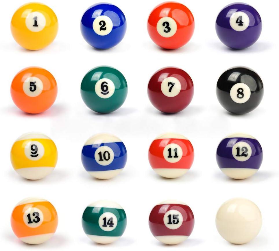LIANTRAL ビリヤードボールセット 16個セット 2-1/4インチ 規定サイズ