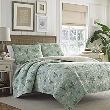 Amazon tommy bahama map quilt set fullqueen home kitchen tommy bahama anglers isle aloe quilt set fullqueen aloe gumiabroncs Gallery