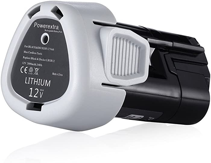 Top 10 Black  Decker Lithium 12 V Battery