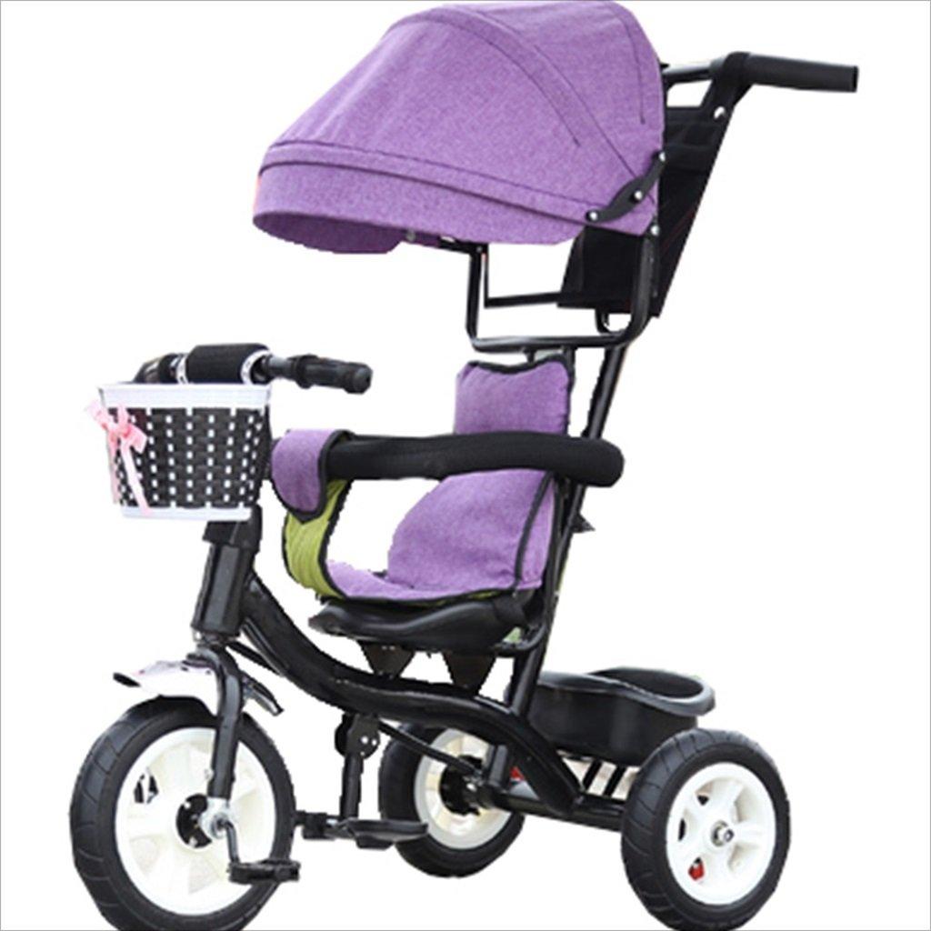 子供の屋内屋外の小さな三輪車自転車の男の子の自転車6ヶ月6歳の赤ちゃんの三輪車の女の子の自転車三輪トロリー天井、ゴムホイール (色 : 11) B07DVFQS6R 11 11